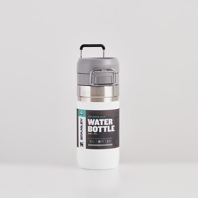 The Quick Flip Paslanmaz Çelik Soğuk Su Termosu Beyaz (0,47 Lt)