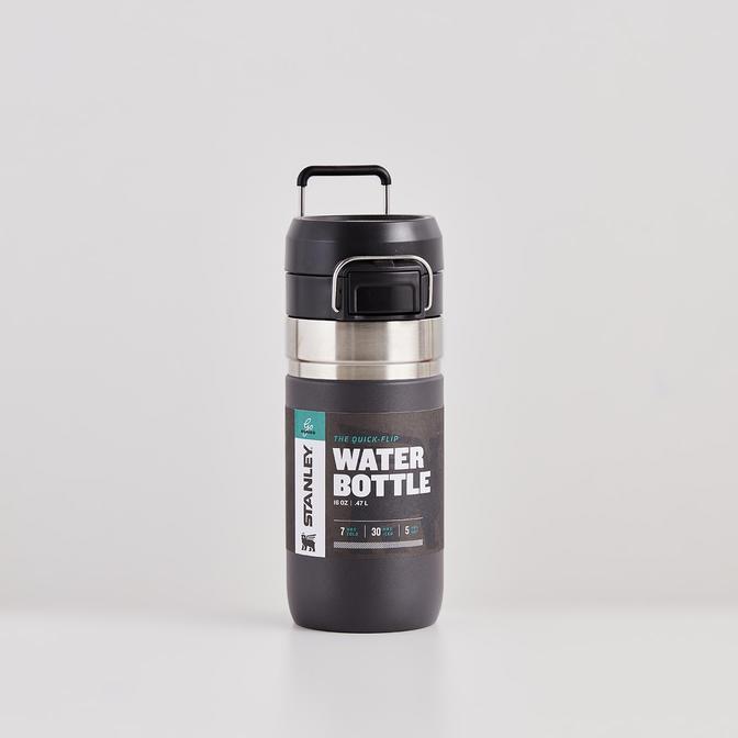The Quick Flip Paslanmaz Çelik Soğuk Su Termosu Füme (0,47 Lt)