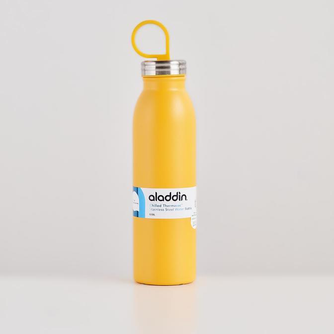 Chilled Thermavac Paslanmaz Çelik Soğuk Su Termosu Sarı (0,55 Lt)