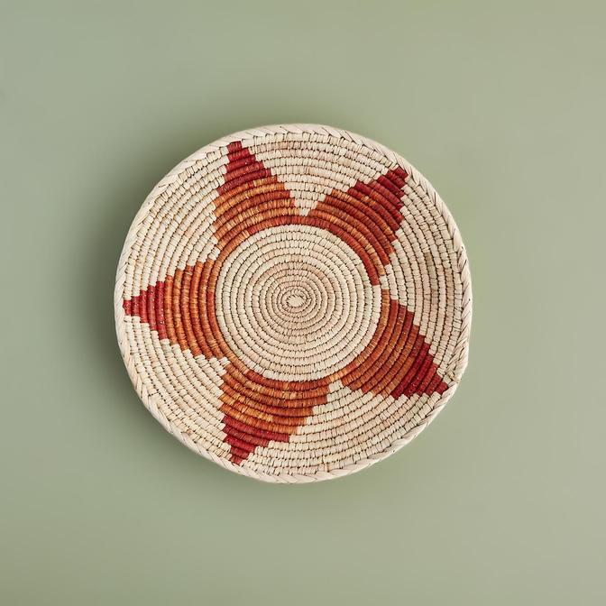 Juliet Duvar Tabağı Kiremit (34x5 cm)
