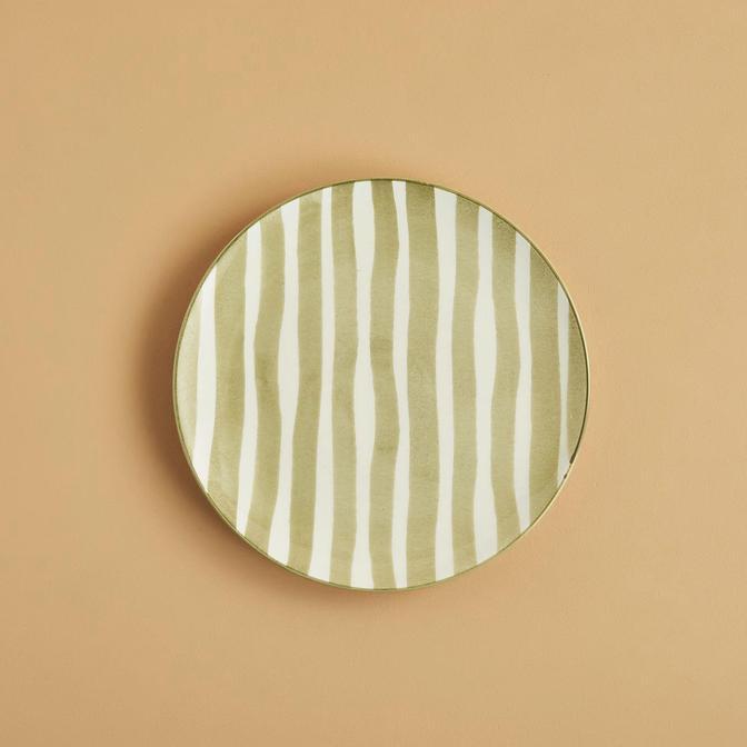 Natura Pasta Tabağı 6'lı Haki (21 cm)