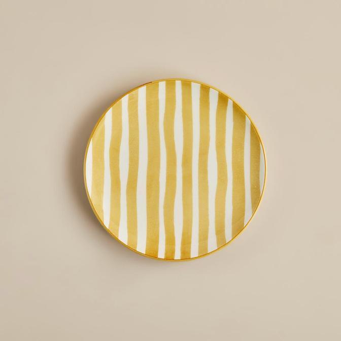 Natura Pasta Tabağı 6'lı Sarı (21 cm)