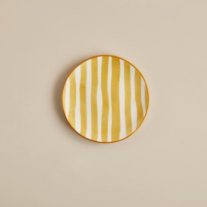 Natura Tatlı Tabağı Sarı (16 cm)