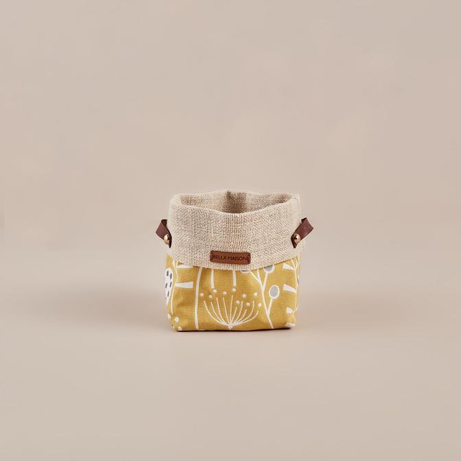 Cichorium Organizer Sepet Sarı (16x13 cm)